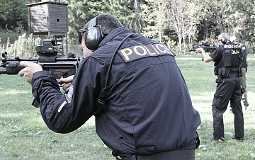Pronájem střelnice pro ozbrojené složky a vycvikové agentury